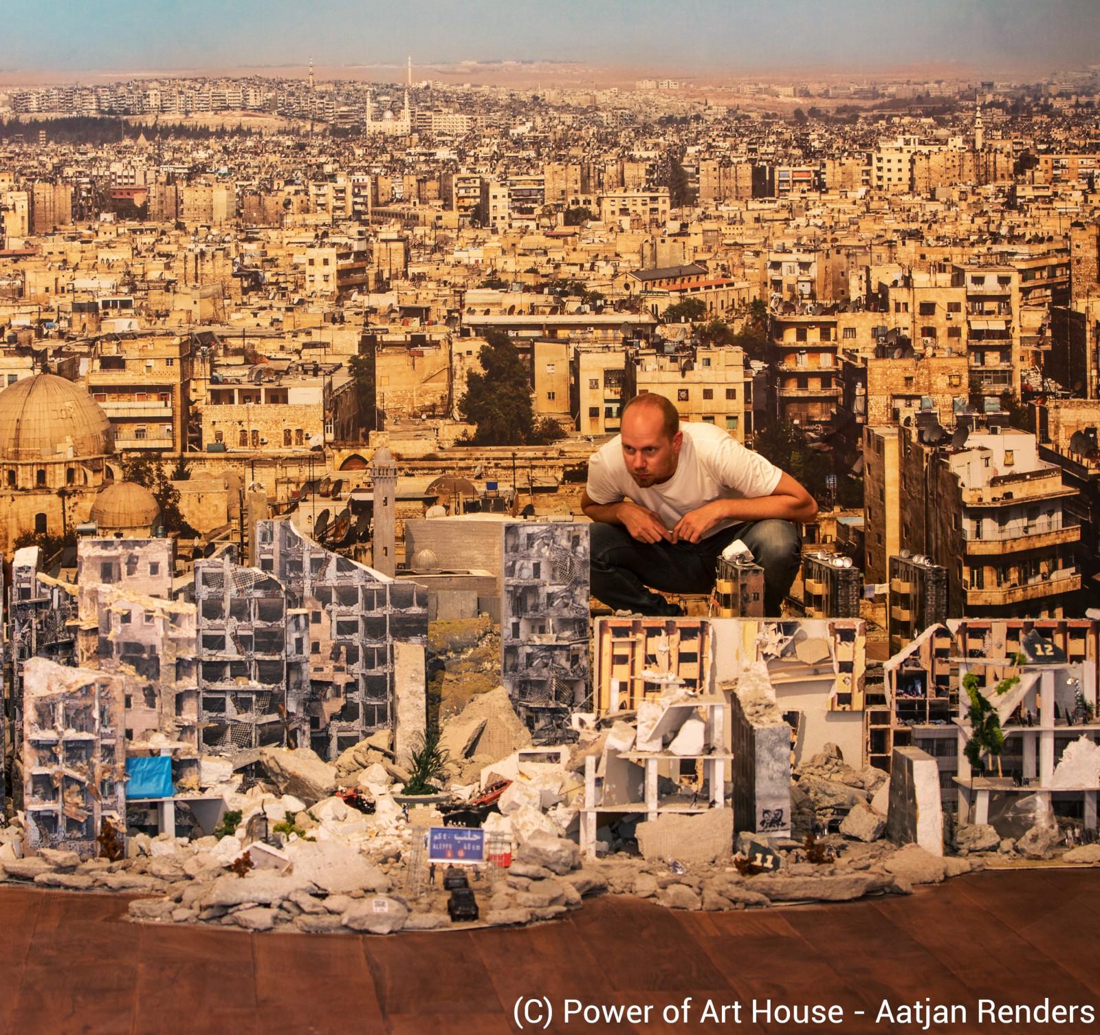Living Aleppo - the installation